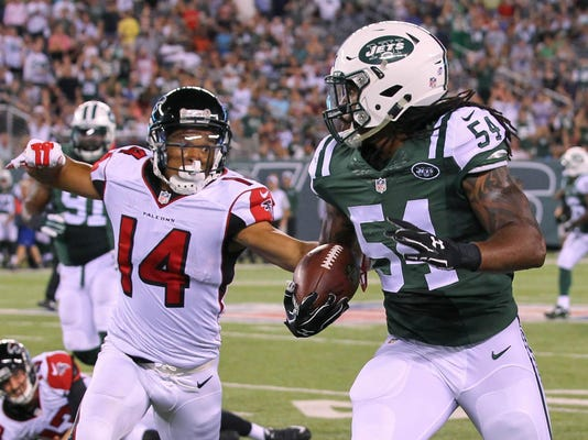 NFL: Preseason-Atlanta Falcons at New York Jets