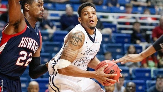 South Alabama graduate Dionte Ferguson earns Eurobasket.com second-team honors. in his year playing overseas.