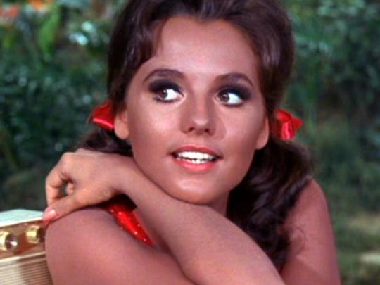 """Dawn Wells, during her days as Mary Ann on """"Gilligan's Island."""""""
