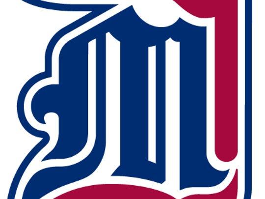 Logo for the University of Detroit Mercy.