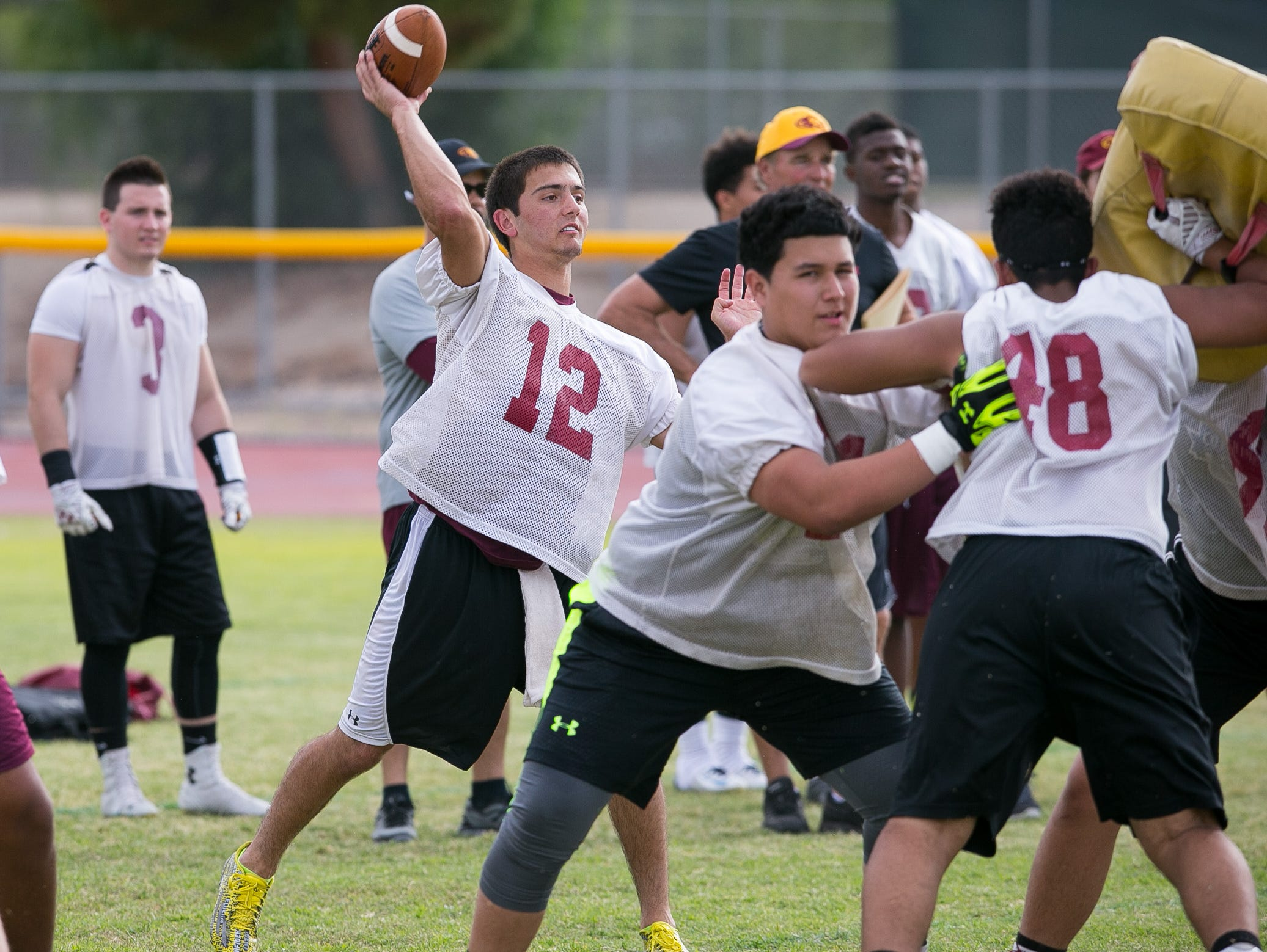 Jack Smith is ready to lead Phoenix Mountain Pointe as maybe the most talented quarterback coach Norris Vaughan has had since he began building this powerhouse in 2009.