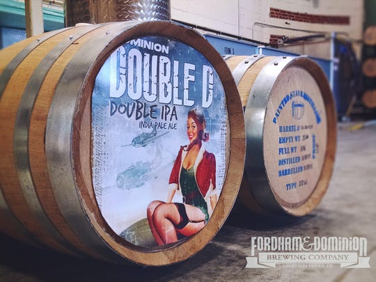 Painted Stave Distilling in Smyrna and Fordham & Dominion Brewing Co. in Dover will release the first batch of Double TroubleD, their beer and whiskey mash-up, on April 23.