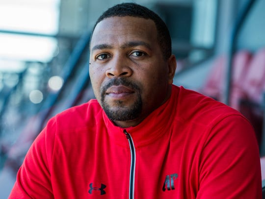 Todd Pinkston, Wide Receivers Coach for Austin Peay