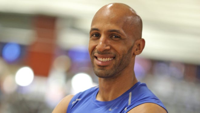 Personal trainer Creus Hamilton is photographed at Lifetime Fitness in White Plains.