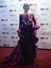 Carmen de Lavallade arrives for the 40th Annual Kennedy