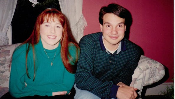 Becky England Jenkins and Josh Jenkins, pictured in