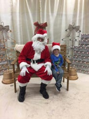 Children had an opportunity to visit with Santa during