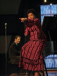 Jazz singer Ramona Steinway will perform at the Plymouth