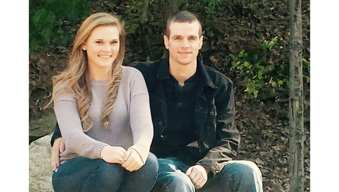 Maddie Williams, left, and her brother Dan Williams Jr., pose for a picture. Maddie wants to find a man who helped her family at a car accident scene 13 years ago near Millersville.