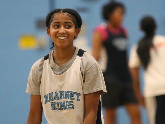 Marianna Freeman, 14, is a freshman guard for Bishop