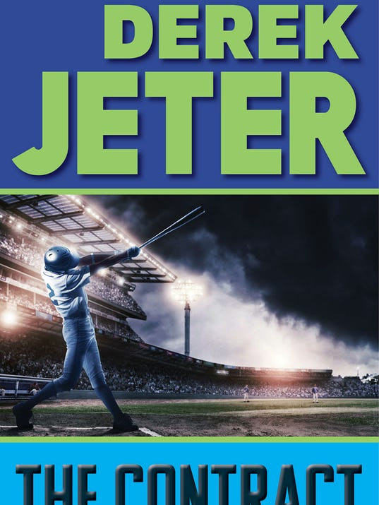 Book Cover Photography Contract : Book buzz exclusive derek jeter cover reveal