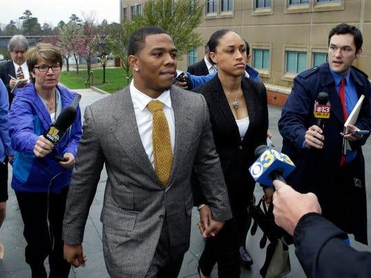 Ray Rice Arrest Football