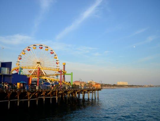 Eva Hardy - Santa Monica Pier