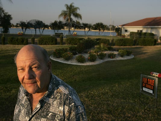 CAPE CORAL RESIDENT DICK KALFUS SELLING LOT