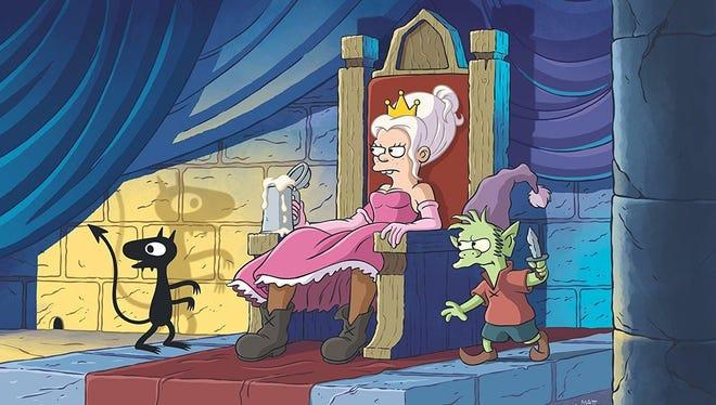 """Disenchantment"" from ""Simpsons"" creator Matt Groening arrives Aug. 17."