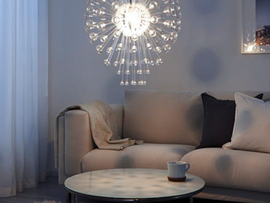 Ikea's Stockholm chandalier sells for $99.99.