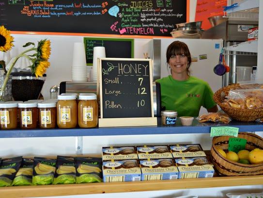 Lisa Daisey, owner of Juicebox in Ocean View, will