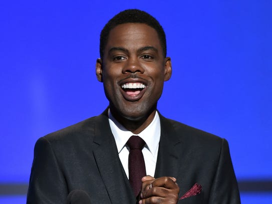 Host Chris Rock will probably have a thing or two to
