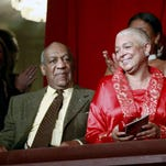 Bill Cosby and his wife, Camille, at the John F. Kennedy Center for Performing Arts in 2009, when Bill Cosby received the Mark Twain Prize for American Humor in Washington.
