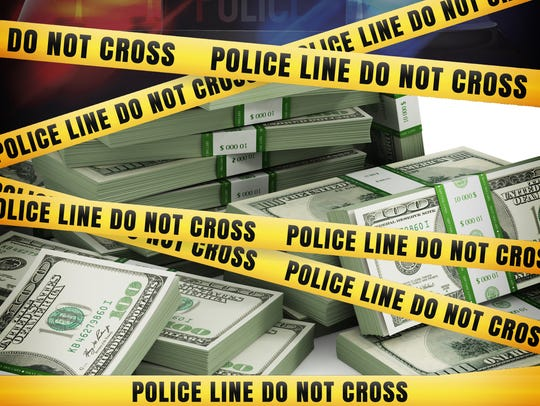 Civil asset forfeiture - a process by which government