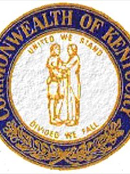 Text: state seal of kentucky. ran 8/16/99