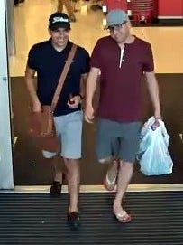 Target surveillance footage shows two of the three suspects who allegedly stole credit cards from country club parking lots and used them at Target.