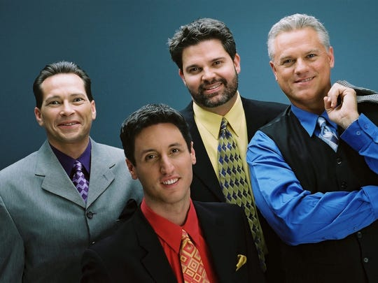 """Acoustix"", the 1990 International Quartet Champions, will perform at the ""Faith, Freedom, and Family"" presentation of the Twin Mountain Tonesmen."