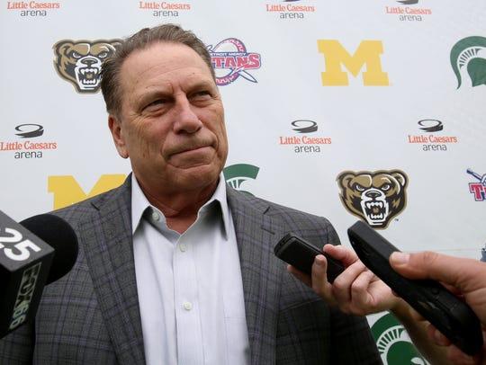 Tom Izzo, Michigan State's men's basketball coach,