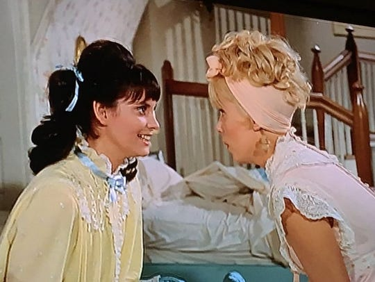 Joyce Bulifant and Lesley Ann Warren in The Happiest