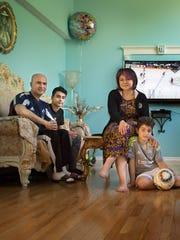Fleeing the persecution of Armenians in Azerbaijan,