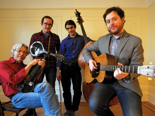 Mr. Sun, featuring fiddler Darol Anger, plays Saturday