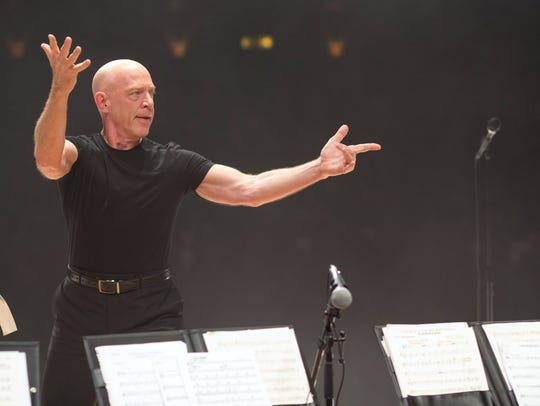 "J.K. Simmons in a scene from the motion picture ""Whiplash."""