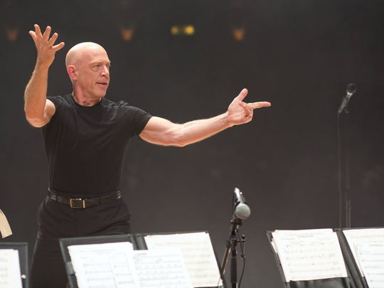 """J.K. Simmons in a scene from the motion picture """"Whiplash."""""""
