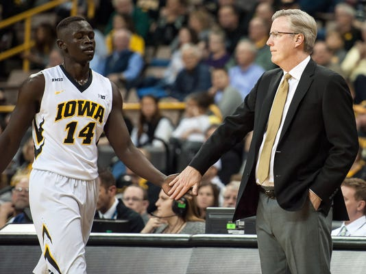 NCAA Basketball: Western Illinois at Iowa