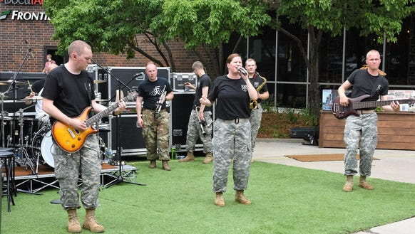 147 Army Band rocked the Sioux Falls Parks and Recreation's