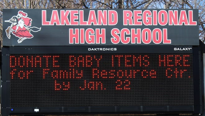 Lakeland Regional High School announced it will postpone its laptop program for all students and teachers.