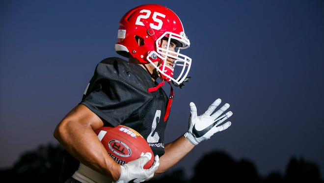 Alvin Berroa is a senior running back for Central High School football and one of the state's top rushers.
