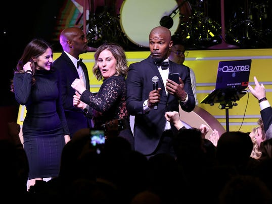 Byron Allen's Oscar Gala Viewing Party To Support The Children's Hospital Los Angeles - Inside