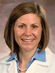 Dr. Lori Caloia, medical director for the Louisville Metro Department of Public Health and Wellness