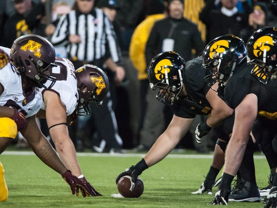 The Oct. 8 rematch between Iowa and Minnesota will