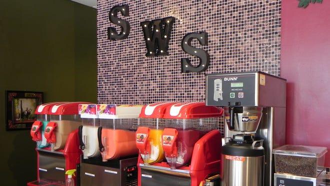 A half-dozen smoothies, some infused with top-shelf wines, are available from Spice Wine Smoothies in south Fort Myers.