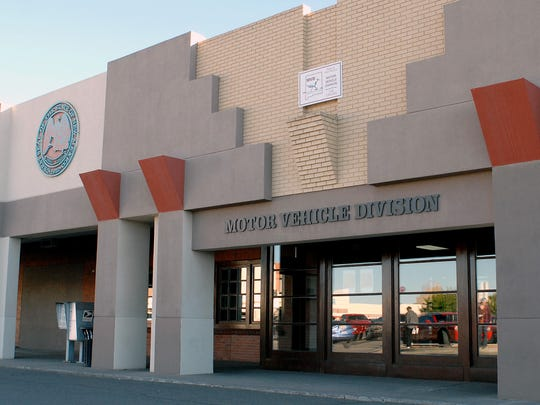 New Mexico Motor Vehicle Division office in Las Cruces