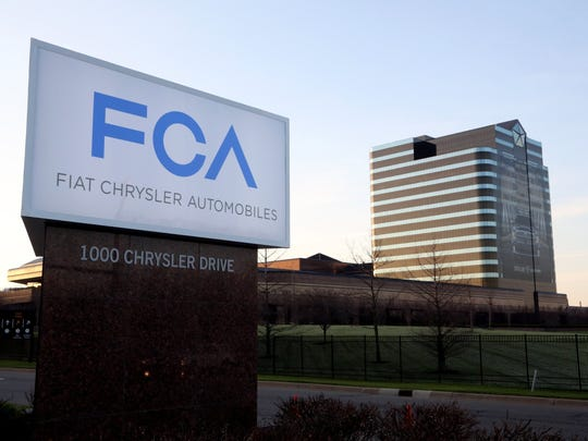 Fiat Chrysler Automobile's headquarters, located in Auburn Hills.