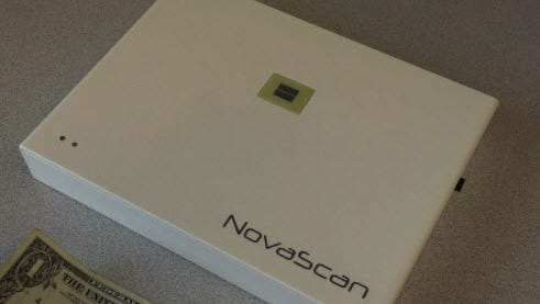 A prototype of NovaScan's MarginScan device used in Mohs surgery to treat skin cancer.