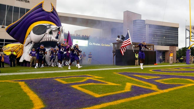 East Carolina next plays at home on Oct. 13 against Navy.