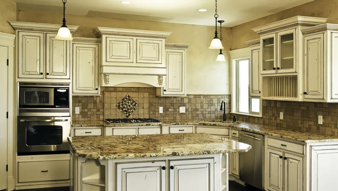 New light fixtures are a good option to catch buyers' interest.