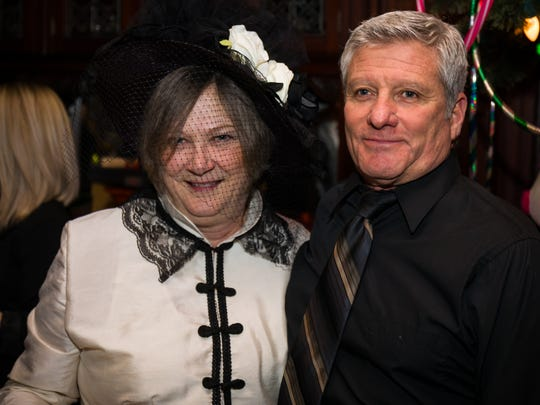 Janet and David Garasso partied with family and friends