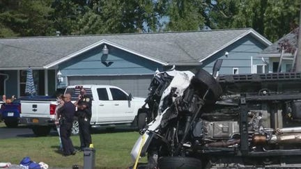 Police say Dianne Donnelly, 67, and William Lawson, 81, both from Hamlin were traveling in a Chevrolet Trax on Spencerport Road in Gates on Tuesday when they were hit head-on. Both died on scene. An arrest has been made in connection with the crash.