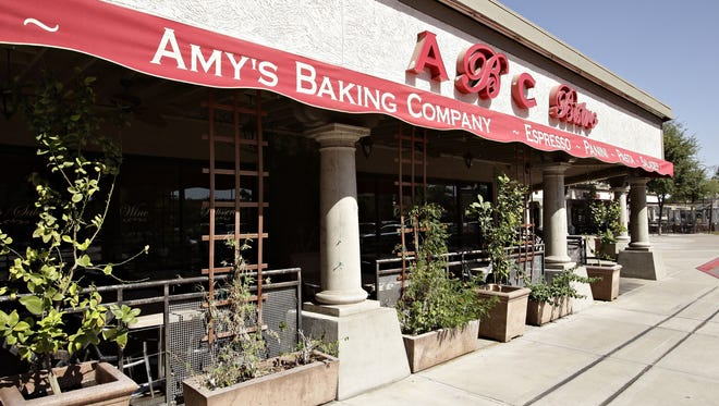 Exterior view of Amy's Baking Company in Scottsdale.