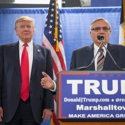 Poll: Arizonans oppose Joe Arpaio pardon; ex-sheriff says he hasn't been invited to rally